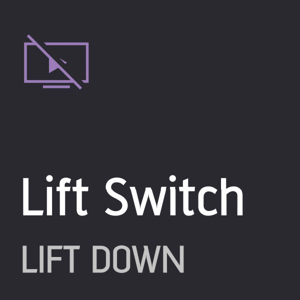 Driver - Lift Switch Down